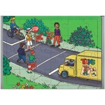 Starting Out Safely: Crossing the Road Jigsaw Puzzle